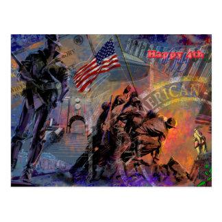 独立記念日及び7月4 ポストカード