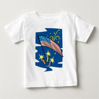 独立記念日2011年 ベビーTシャツ
