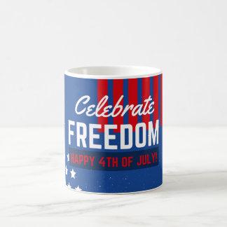 独立記念日7月4日 コーヒーマグカップ