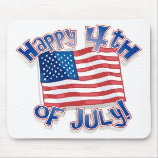 独立記念日7月4日 マウスパッド