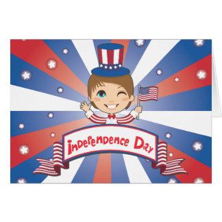 独立記念日 カード