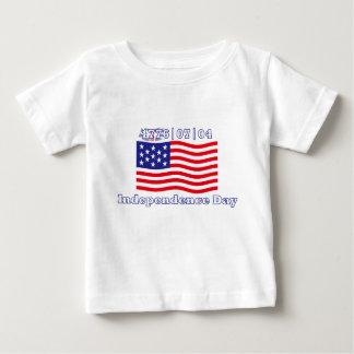 独立記念日 ベビーTシャツ