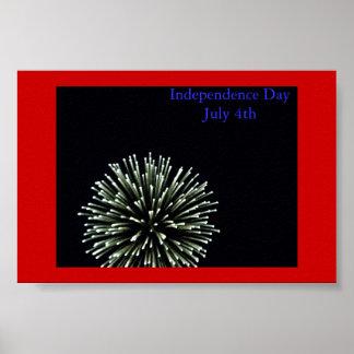 独立記念日 ポスター