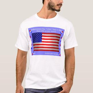 独立記念日(前部) Tシャツ