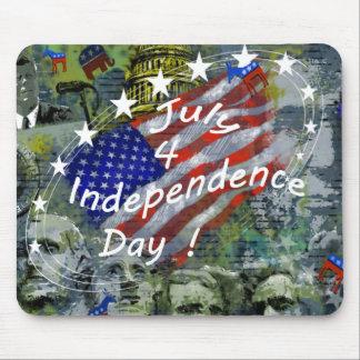 独立記念日、7月4日 マウスパッド