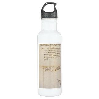 独立1776年7月2日のリーの決断 ウォーターボトル