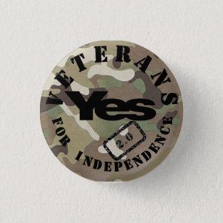 独立2.0 Yes2バッジのための退役軍人 3.2cm 丸型バッジ