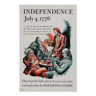独立: 1776年7月4日 ポスター