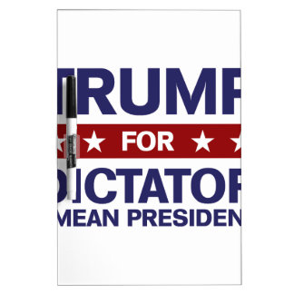 独裁者のための切札 ホワイトボード