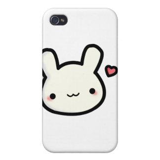独身のでかわいいバニーのiphone 4ケース iPhone 4 ケース