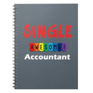 独身ので素晴らしい会計士 ノートブック