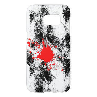 独身ので赤い滴り SAMSUNG GALAXY S7 ケース