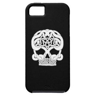 独身のなケルト族のスカル iPhone SE/5/5s ケース