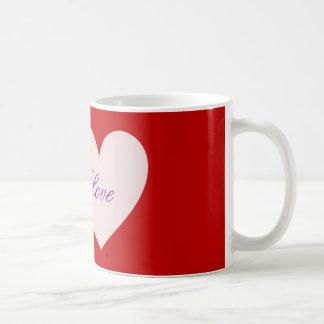 独身のなハートのマグ コーヒーマグカップ