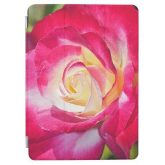 独身のなピンクおよび白いバラ iPad AIR カバー