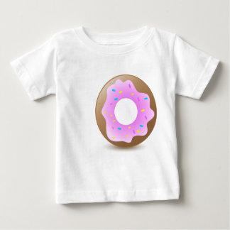 独身のなピンクドーナツ ベビーTシャツ
