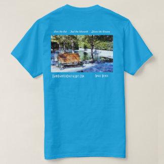 独身のなベンチ Tシャツ