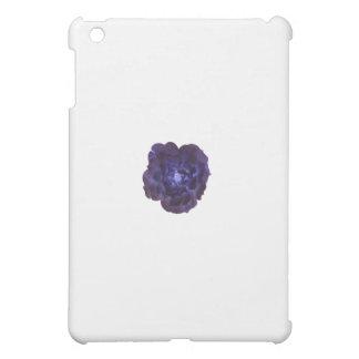 独身のな濃紺の茶バラ iPad MINI CASE