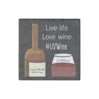 独身のな石の生きている生命愛ワインの磁石 ストーンマグネット