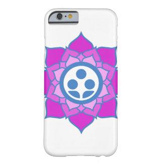 独身のな花の禅の中心のロゴ BARELY THERE iPhone 6 ケース