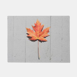 独身のな葉の玄関マット ドアマット