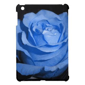 独身のな青のバラ iPad MINIカバー