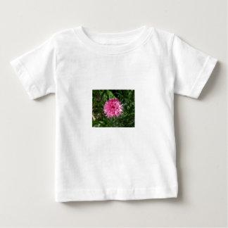 独身のボタンピンクのベビーのワイシャツジョセリンBurke ベビーTシャツ