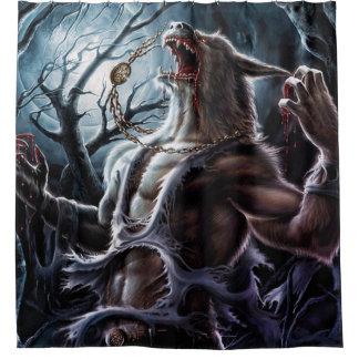狼人間の変更 シャワーカーテン