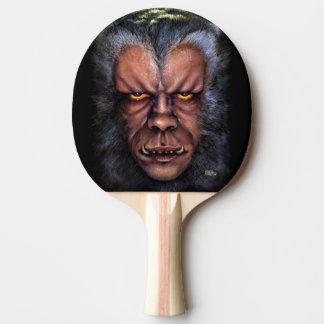 狼人間の悪態 卓球ラケット
