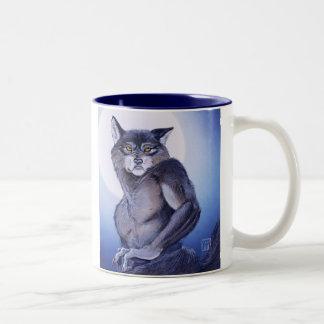 狼人間の耳 ツートーンマグカップ