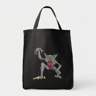 狼人間の食料雑貨のトート トートバッグ