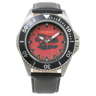 猛烈な恐竜の腕時計 腕時計