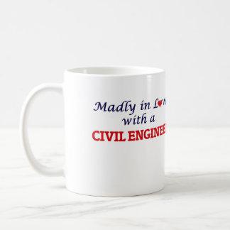 猛烈に土木技師との愛で コーヒーマグカップ