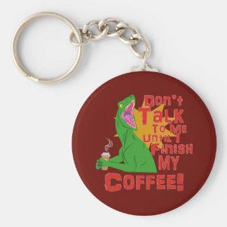 猛禽およびコーヒー キーホルダー