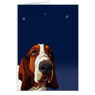 猟犬を熟視する星 カード
