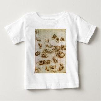 猫およびドラゴンのStudys ベビーTシャツ