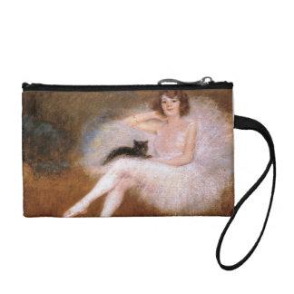 猫およびバレリーナの財布 コインパース