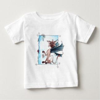 猫およびマウスのゲーム ベビーTシャツ