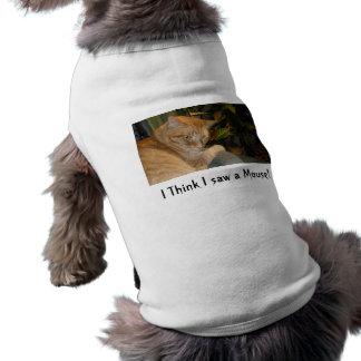猫およびマウスのユーモア ペット服