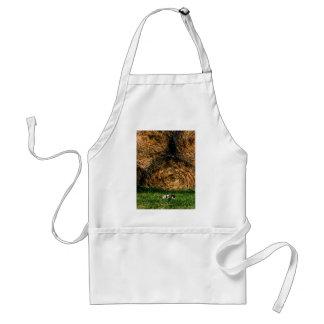 猫および干し草のエプロン スタンダードエプロン