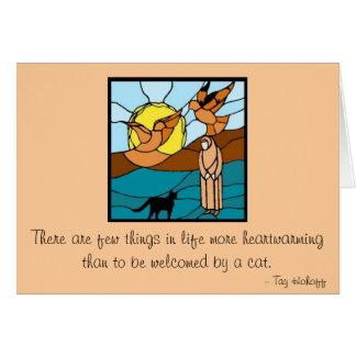 猫および鳥との姉妹の熾天使 カード