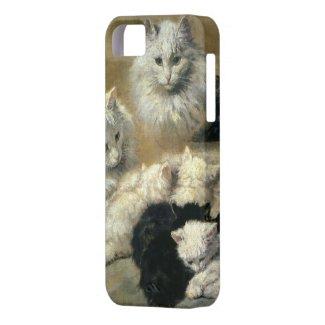 猫と子猫 iPhone 5 カバー