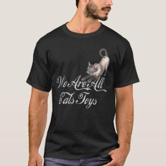 猫のおもちゃ Tシャツ