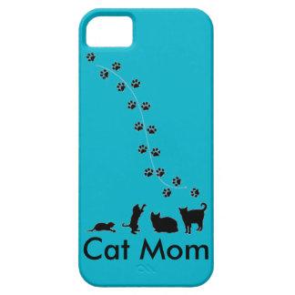 猫のお母さんの電話箱 iPhone SE/5/5s ケース