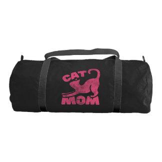 猫のお母さん ジムバッグ