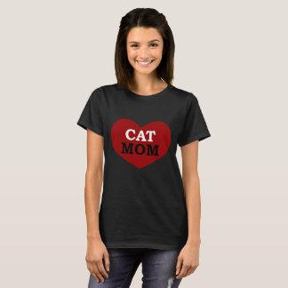 猫のお母さん Tシャツ