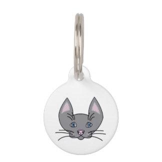 猫ので。 小さいペットタグ ペット ネームタグ