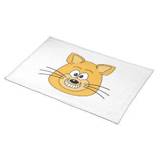 猫のにやにや笑い ランチョンマット