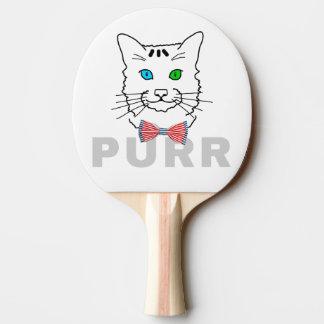 猫ののどを鳴らす音 卓球ラケット