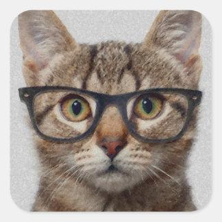 猫のオタク スクエアシール